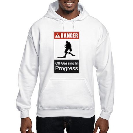 Danger Off Gassing 2 Hooded Sweatshirt
