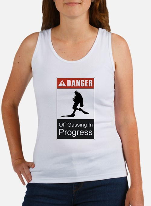 Danger Off Gassing 2 Women's Tank Top