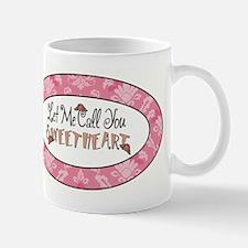 LET ME CALL YOU... Mugs