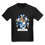Mundel Family Crest Kids Dark T-Shirt
