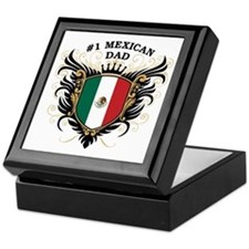 Number One Mexican Dad Keepsake Box