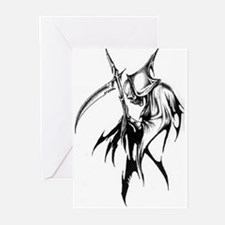Gothic Grim reaper artwork Greeting Cards (Pk of 1