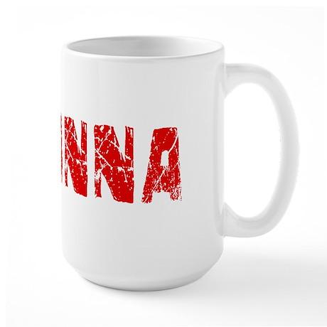 Aryanna Faded (Red) Large Mug