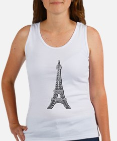 Eiffel Tower Women's Tank Top