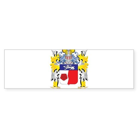 Henry Coat of Arms - Family Crest Bumper Sticker