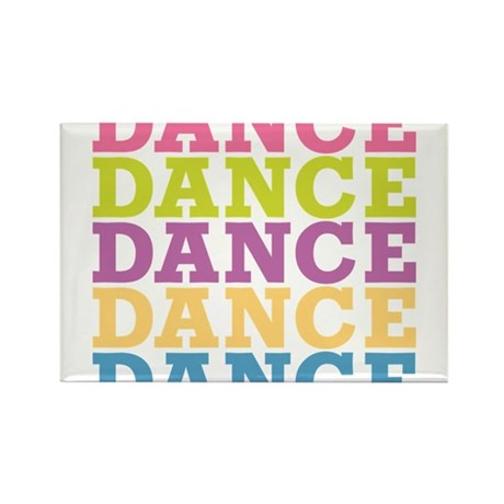 Dance Rectangle Magnet (100 pack)