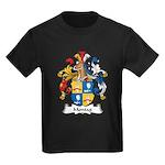 Montag Family Crest Kids Dark T-Shirt