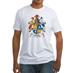 Montag Family Crest Fitted T-Shirt