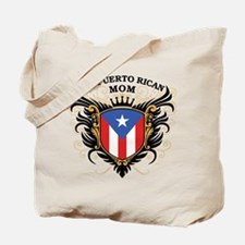Number One Puerto Rican Mom Tote Bag
