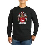 Molitor Family Crest Long Sleeve Dark T-Shirt