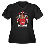 Molitor Family Crest Women's Plus Size V-Neck Dark