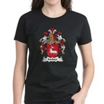 Molitor Family Crest Women's Dark T-Shirt