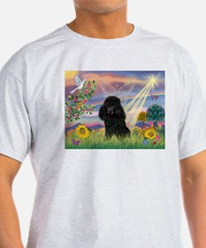 Cloud Angel & Poodle (#2) T-Shirt