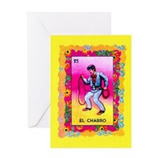 Mexican Cowboy Greeting Card