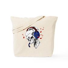 DJ Skull Tote Bag