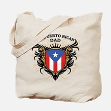 Number One Puerto Rican Dad Tote Bag