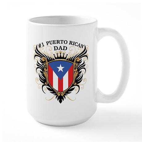 Number One Puerto Rican Dad Large Mug