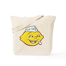 Sour Time Lemon Tote Bag