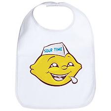 Sour Time Lemon Bib