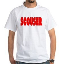 Scouser Red Letters Shirt
