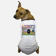 Cloud Angel & Poodle #17 Dog T-Shirt