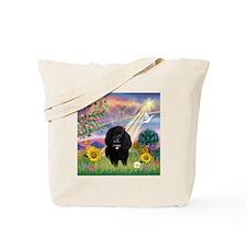 Cloud Angel & Poodle #17 Tote Bag