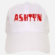 Ashtyn Faded (Red) Baseball Baseball Cap