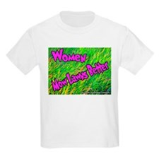 Women Mow Lawns Better Kids T-Shirt