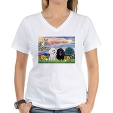 Cloud Angel & 2 Poodles Shirt