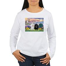 Cloud Angel & 2 Poodles T-Shirt