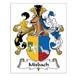 Misbach Family Crest Small Poster