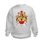 Meurer Family Crest Kids Sweatshirt