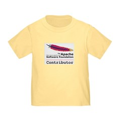 ASF's youngest contributor's shirt