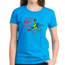 It's My 50th Birthday (Party Hats) Tee