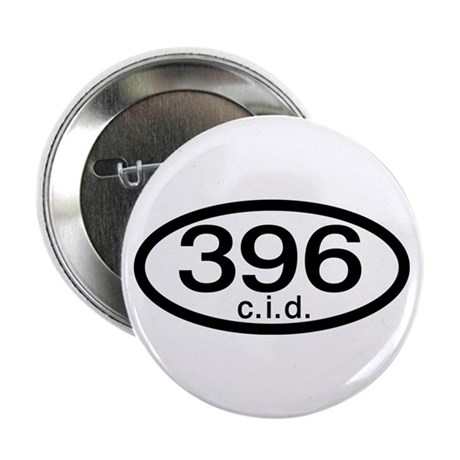 "Chevy vintage muscle car 396 c.i.d. 2.25"" Button ("