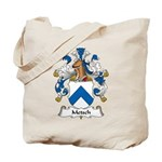 Metsch Family Crest Tote Bag