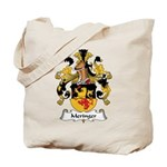 Meringer Family Crest Tote Bag