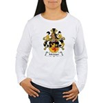 Meringer Family Crest Women's Long Sleeve T-Shirt