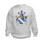 Mergenthal Family Crest Kids Sweatshirt