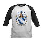 Mergenthal Family Crest Kids Baseball Jersey
