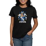 Mergenthal Family Crest Women's Dark T-Shirt