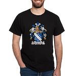 Mergenthal Family Crest Dark T-Shirt