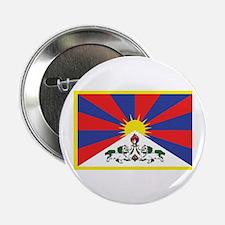 "Tibetan Flag 2.25"" Button"