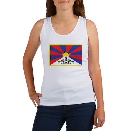 Tibetan Flag Women's Tank Top