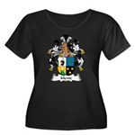 Mentz Family Crest Women's Plus Size Scoop Neck Da