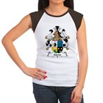 Mentz Family Crest Women's Cap Sleeve T-Shirt
