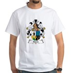 Mentz Family Crest White T-Shirt