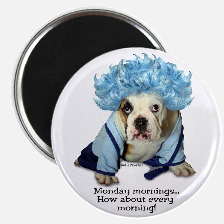Monday Morning Bulldog Magnet