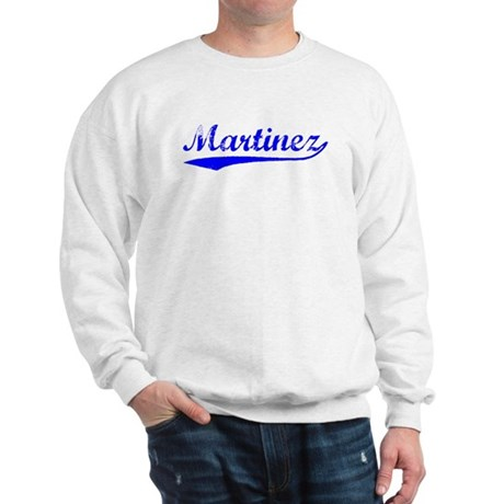 Vintage Martinez (Blue) Sweatshirt