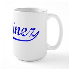 Vintage Martinez (Blue) Mug